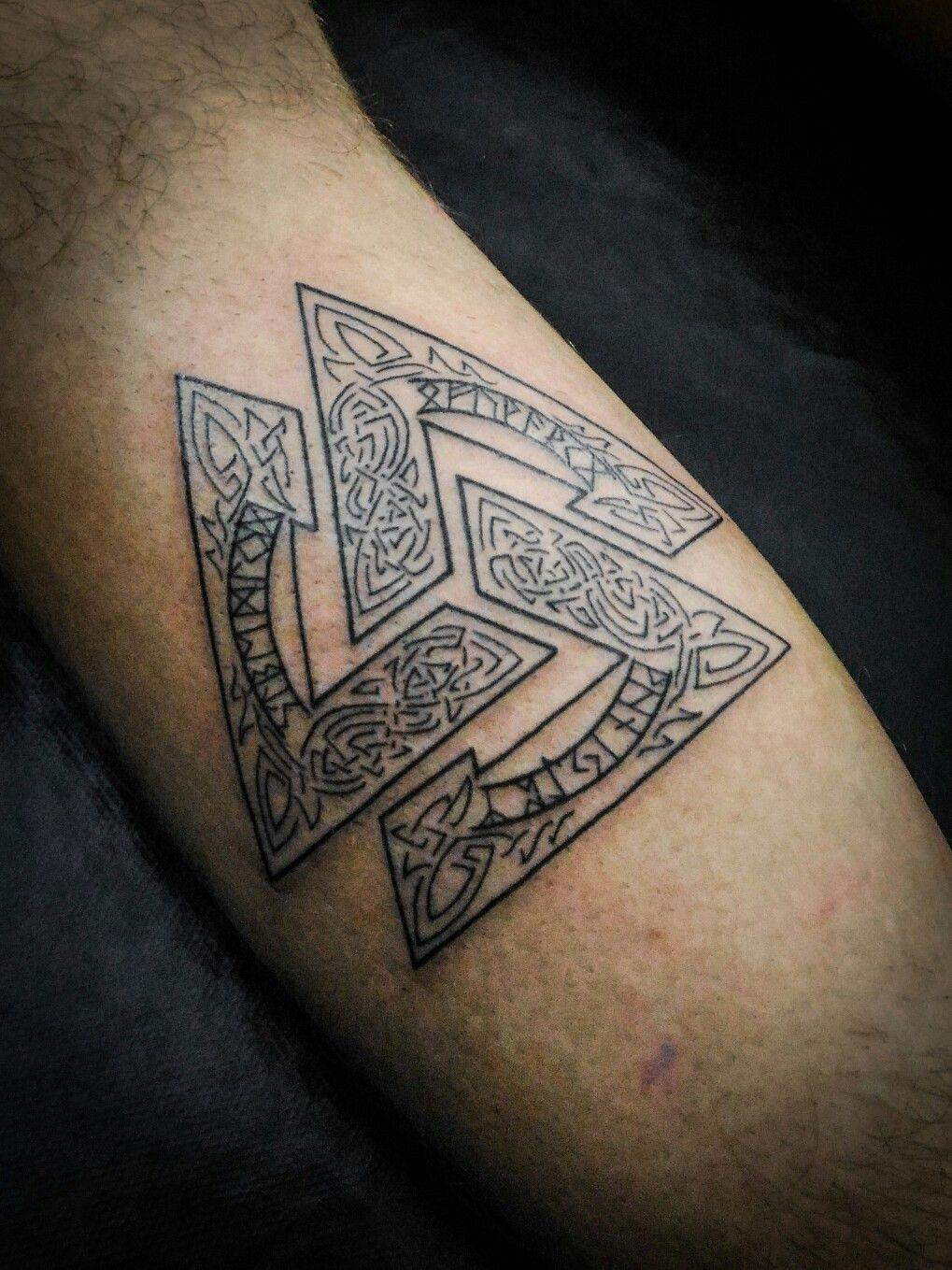 Valknut Tattoo Disegni Per Tatuaggi