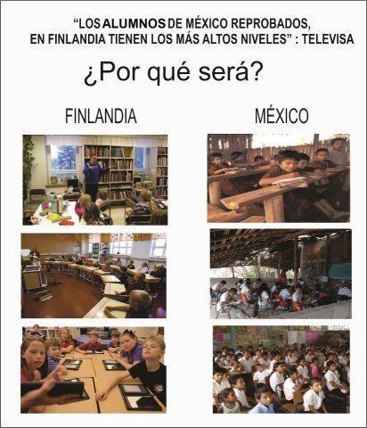 finlandia y mexico ¿porque seran tan diferentes?
