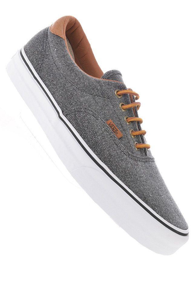 db131a0c8e VANS Era 59 (washed twill) black Van Shoes