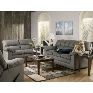 Ashley Furniture Keanna Cobblestone Sofa 2 At Big Sandy Superstore