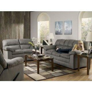 Ashley Furniture Keanna Cobblestone Sofa 2 At Big Sandy Superstore
