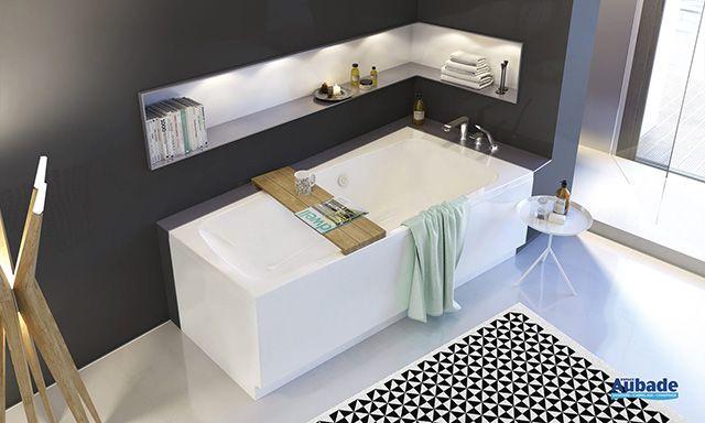 Sublime baignoire rectangulaire Angie de la marque Allia Parfait