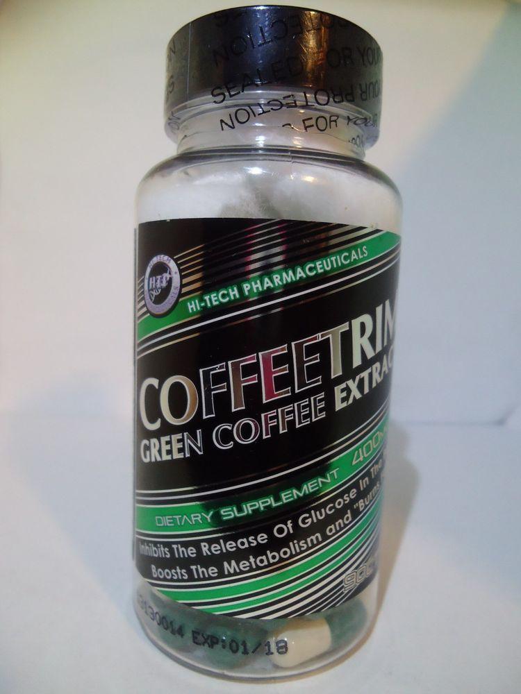 HiTech Pharmaceuticals Coffeetrim Green Coffee Extract 90