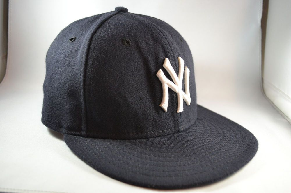 New York Yankees New Era 59Fifty Hat MLB 7 Cap Authentic Collection #NewEra #NewYorkYankees