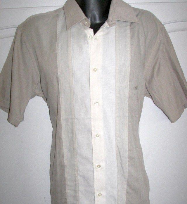 5058e336eb Van Heusen Havanera Guayabera Cuban Style Shirt. Van Heusen Havanera  Guayabera Cuban Style Shirt Guayabera Shirt