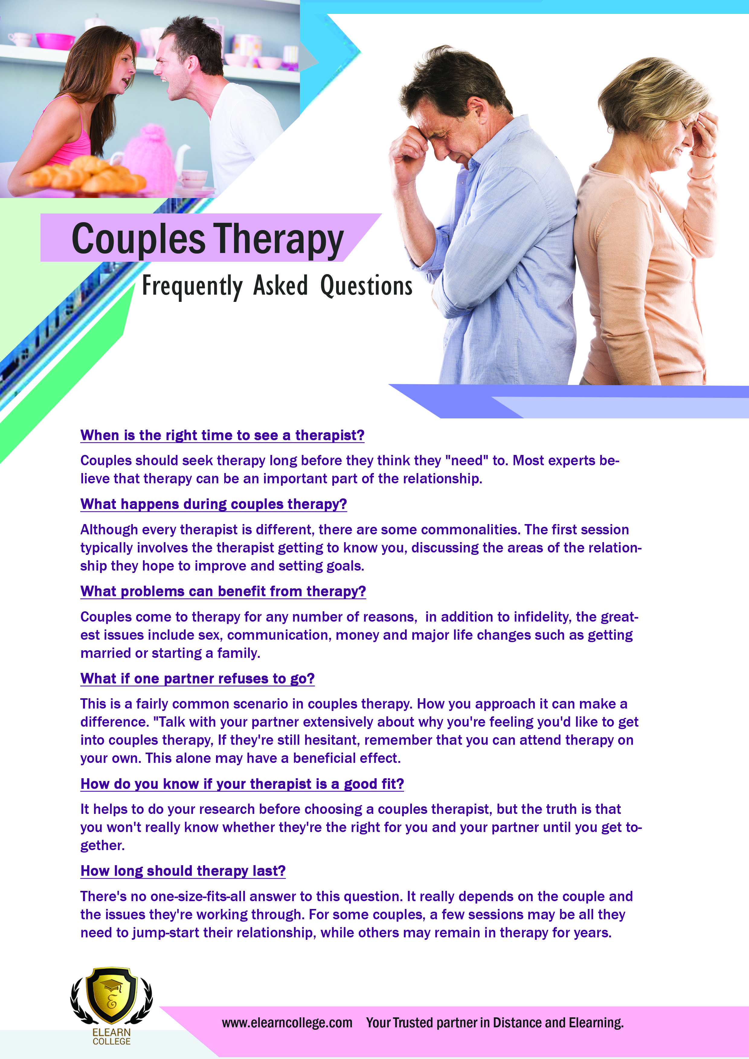 An Insight To Couples Therapy In