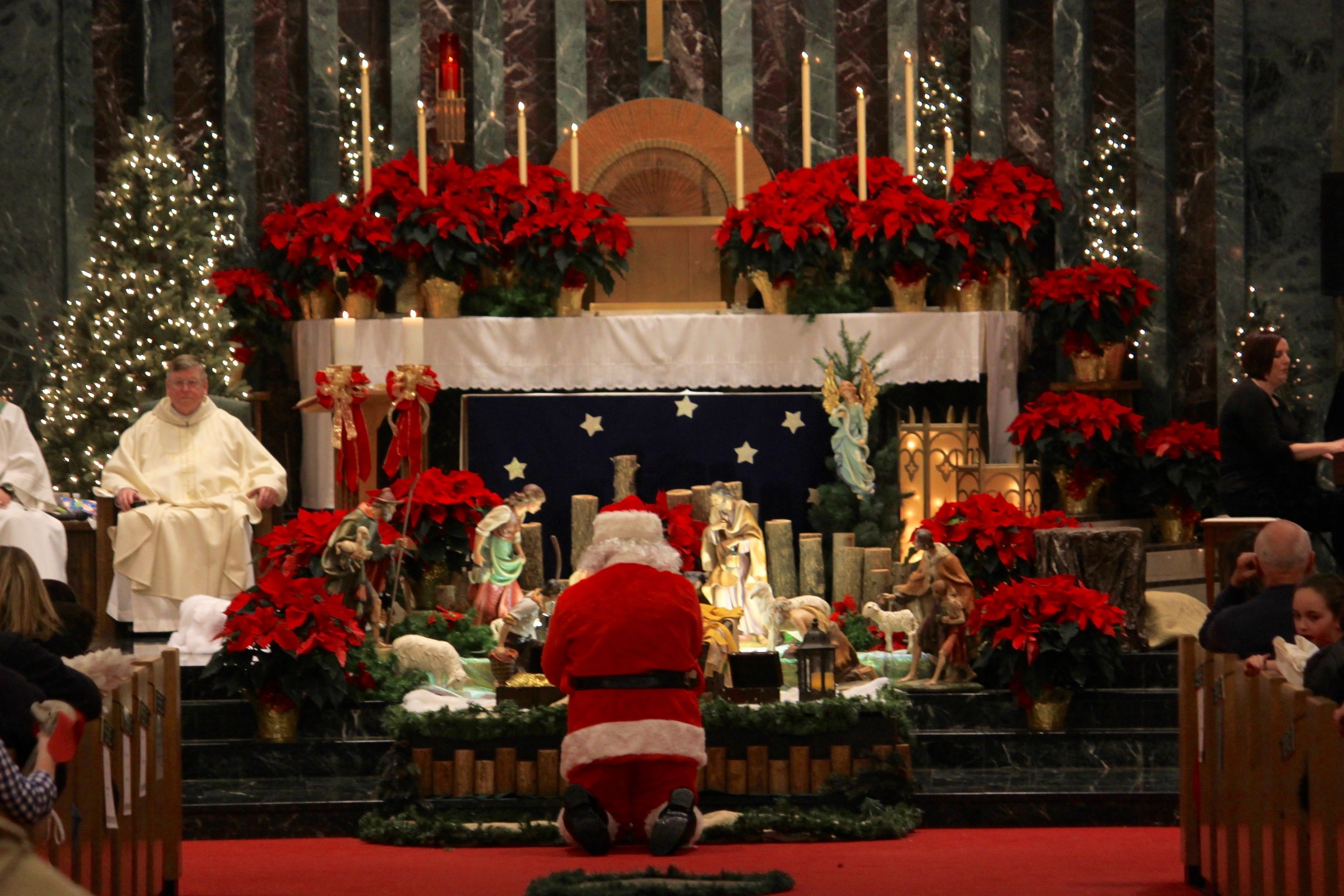 Christmas Eve Mass at St. John Vianney Catholic Church