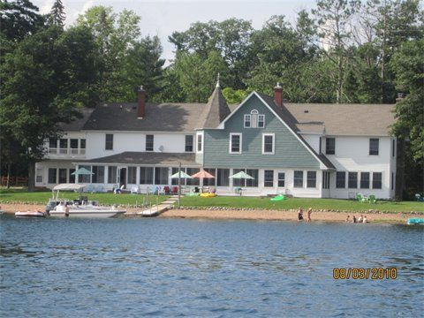 Wondrous Lakeview Of The Old Chicago Club On Lac Courte Oreilles Download Free Architecture Designs Crovemadebymaigaardcom