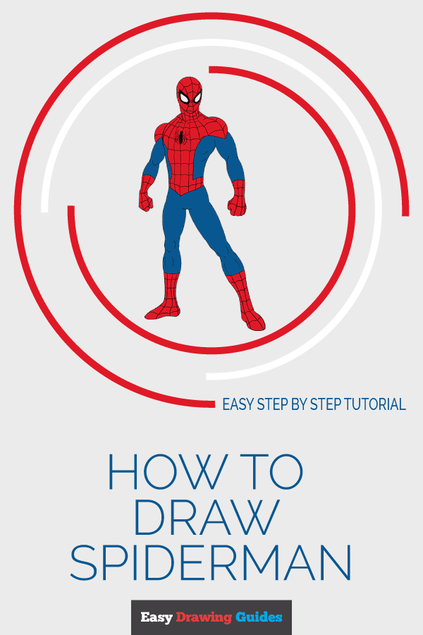 How To Draw Spiderman Art Videos Pinterest Spiderman Drawing