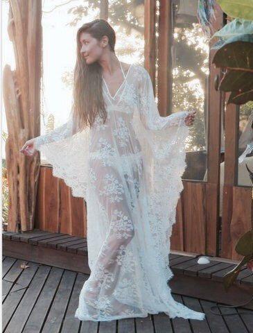 dba1b7a2c8e78 Honeymoon Dress Beach Dress Wedding Lingerie Tunic bridal