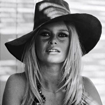 Bridgette Bardot and other leading ladies showcase the 70's inspired hat trends, here: