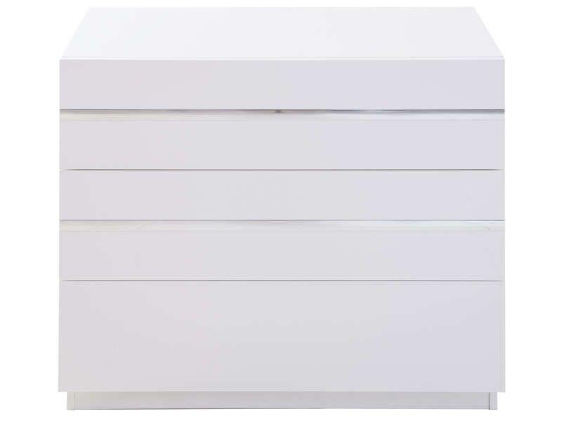 Commode GLASS Coloris Blanc   Pas Cher ? Cu0027est Sur Conforama.fr   Large  Choix, Prix Discount Et Des Offres Exclusives Commode Sur Conforama.fr