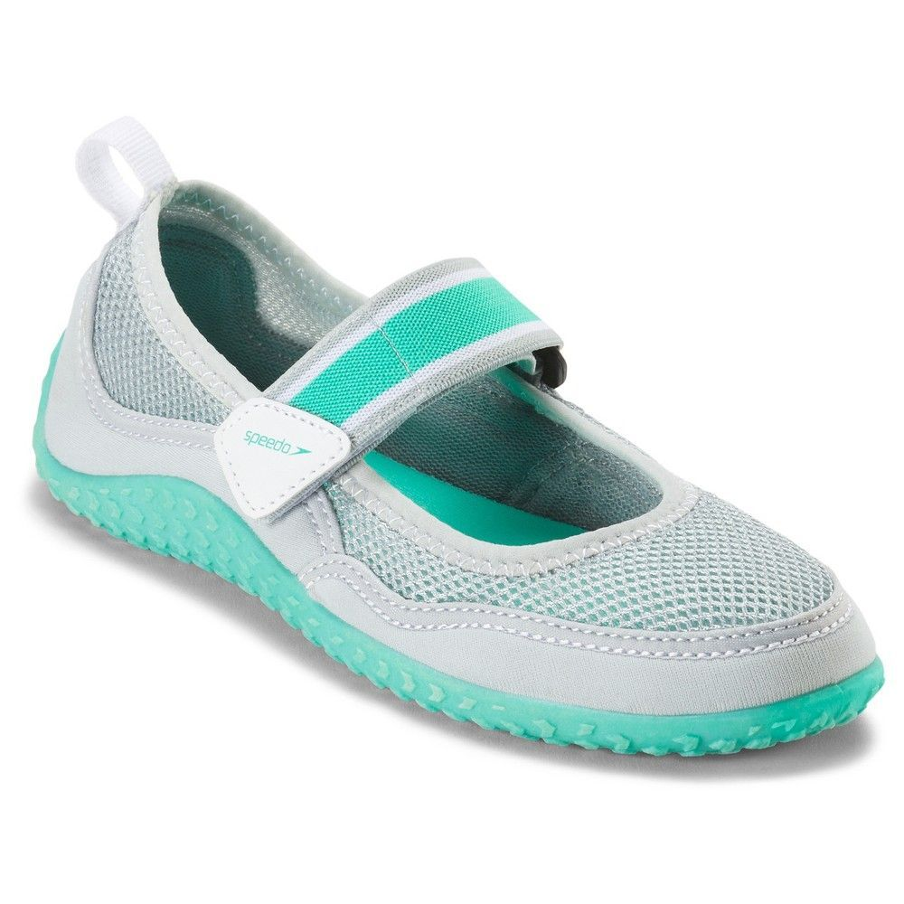 a73d348e25ae Speedo Junior Girls  Mary Jane Water Shoes - Gray (Medium ...