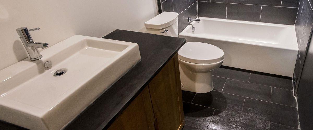 DIY slate tile installation | Slate tile, Tile ...