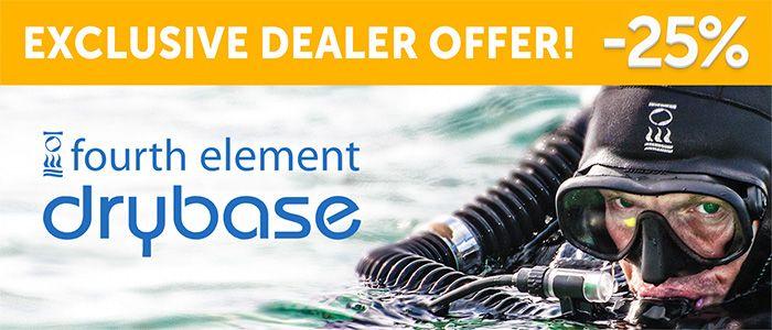 Fourth Element Drybase -25 % OFF | Element, 25th, Offer