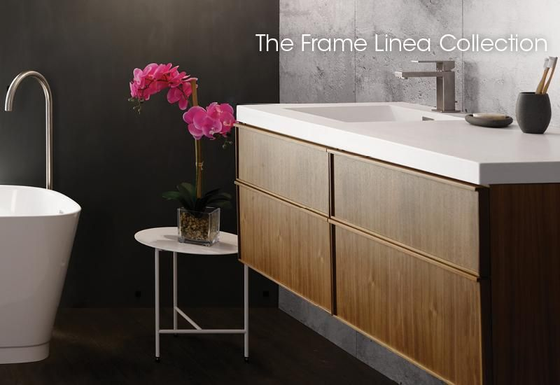 Frame Linea Collection Furniture Wetstyle 48 Vanity Vanity