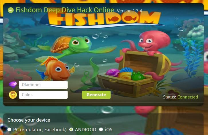 Fishdom Deep Dive diamonds hack mod apk and tricks