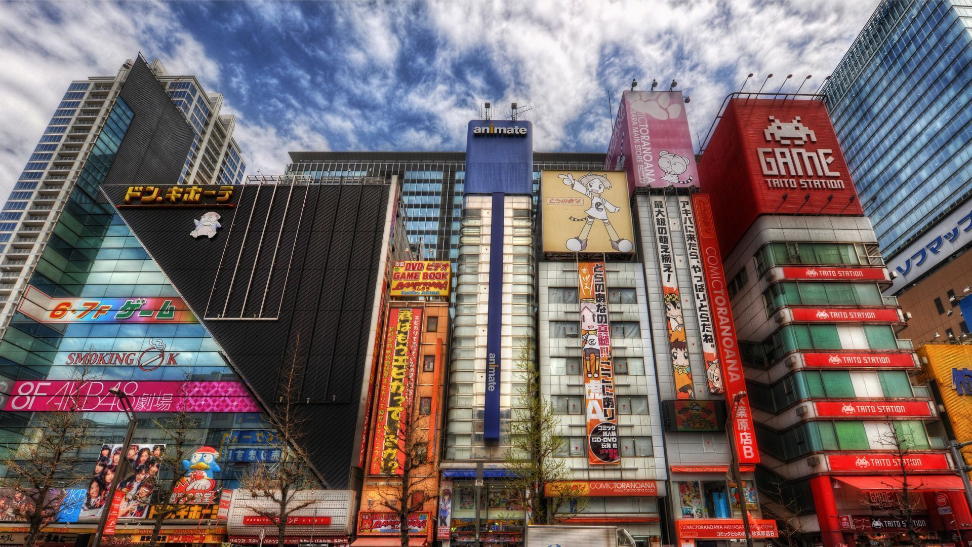 Street Akihabara in Tokyo wallpapers and images wallpapers