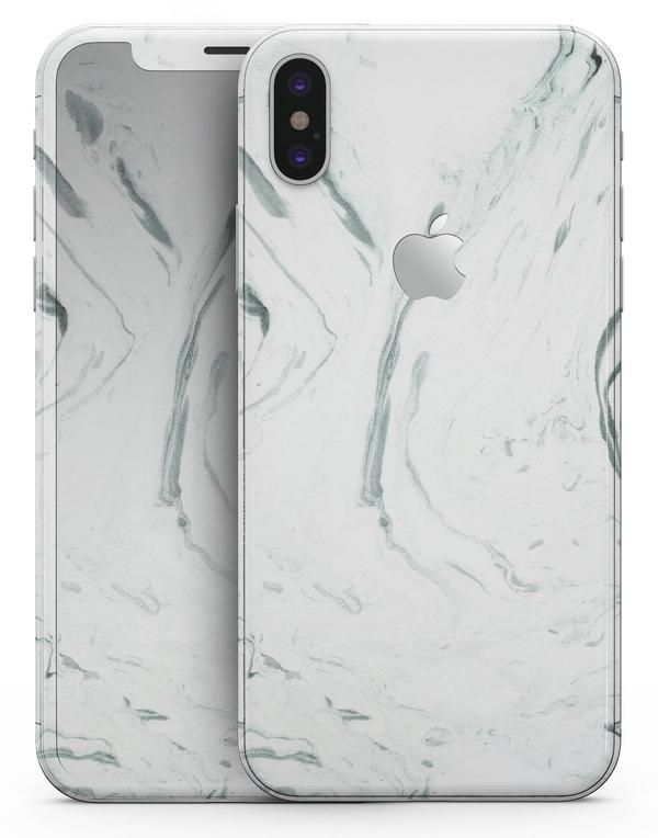 Mint 19 Textured Marble - iPhone X Skin-Kit  05cac6ef6c