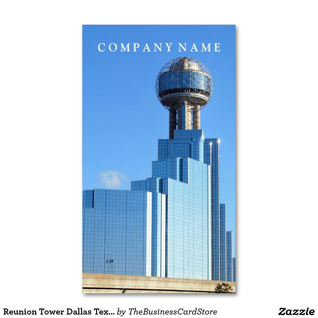 Reunion Tower Dallas Texas Standard Business Card | AMERICAN ...