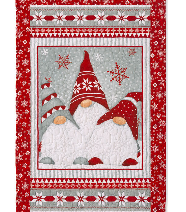 Christmas Gnome CLM0111066 Quilt Blanket Christmas