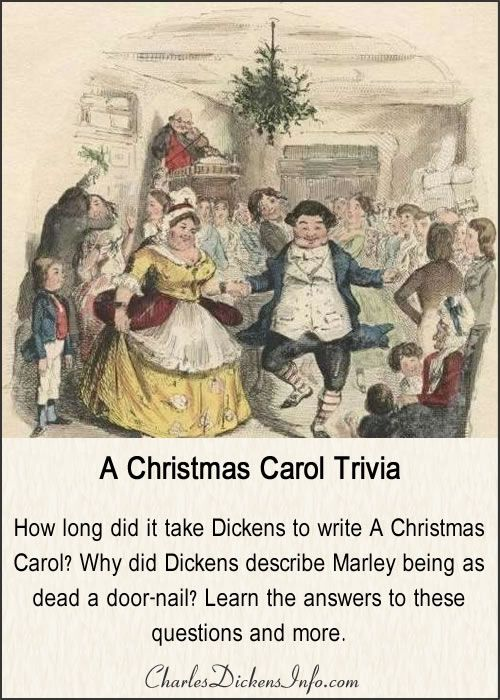 A Christmas Carol Trivia (With images) | Christmas carol, Charles dickens christmas, Best short ...