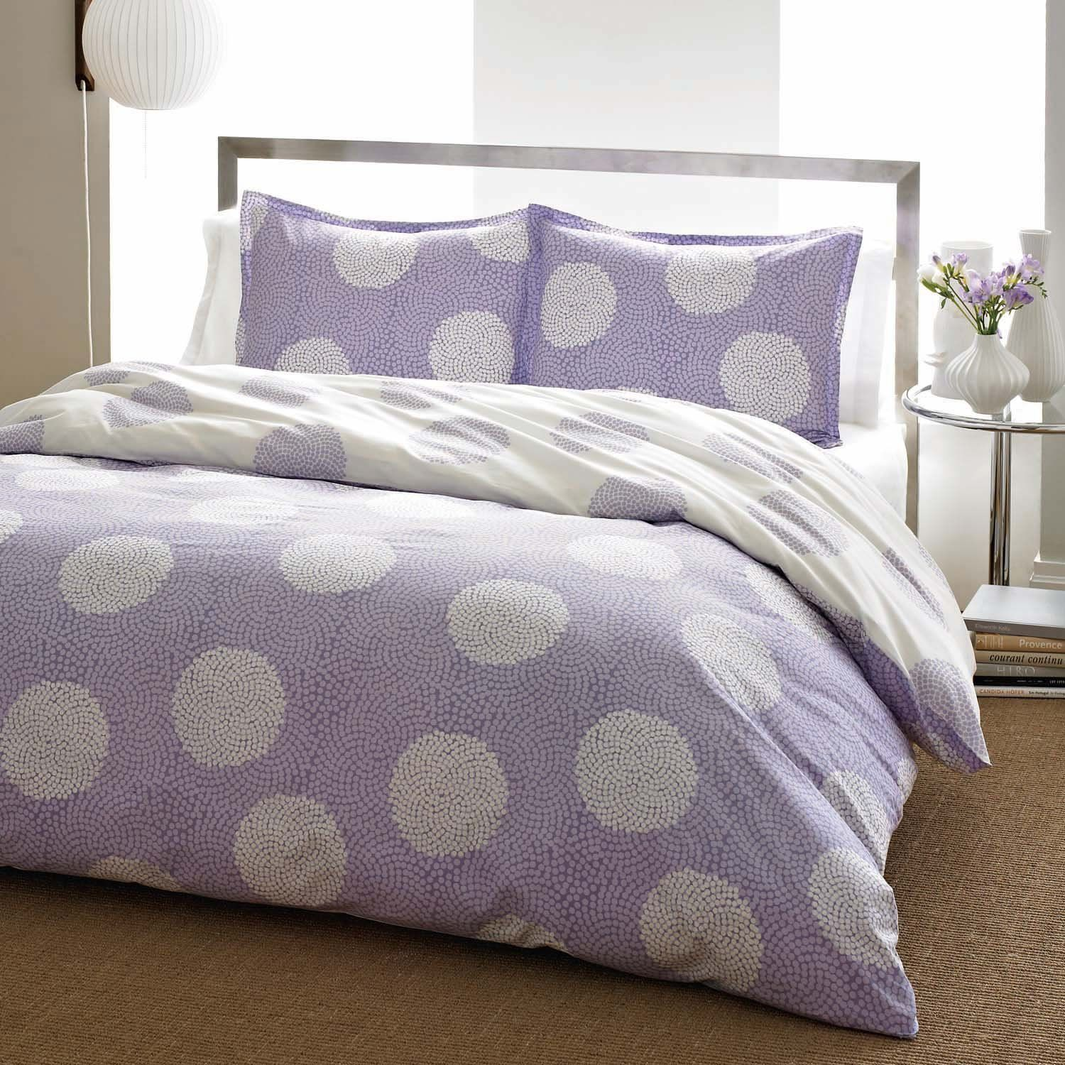 City scene raindance lavender duvet sham set lavender full queen