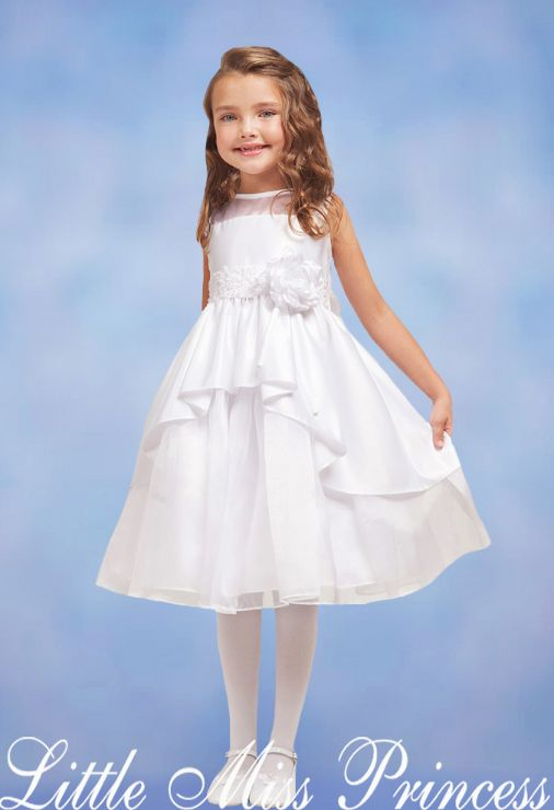 1000  images about White flower girl dresses on Pinterest