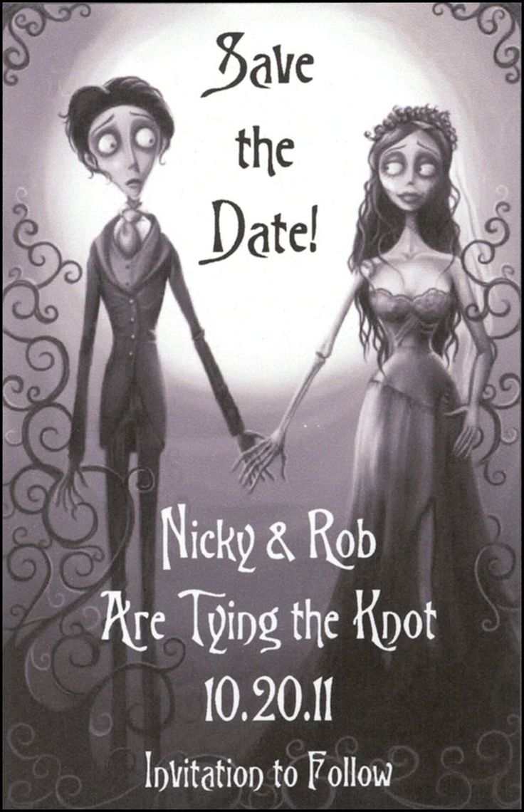 Gothic Save The Date Cards Pictures About Gothic Save The Date
