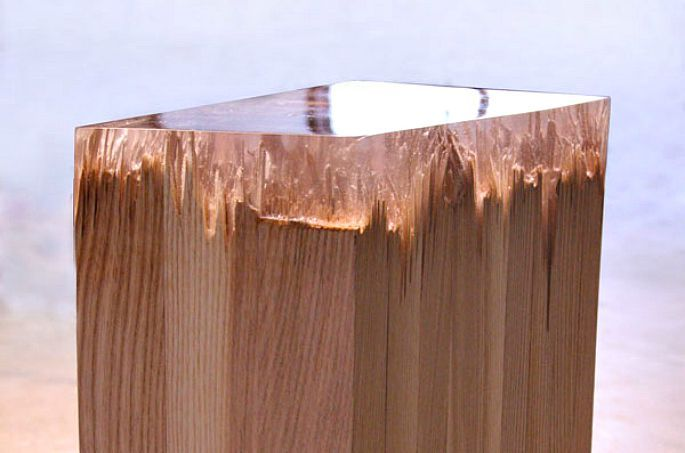 Jack Craig Fixes a Smashed Table With a Caramelized Resin Top | Resin