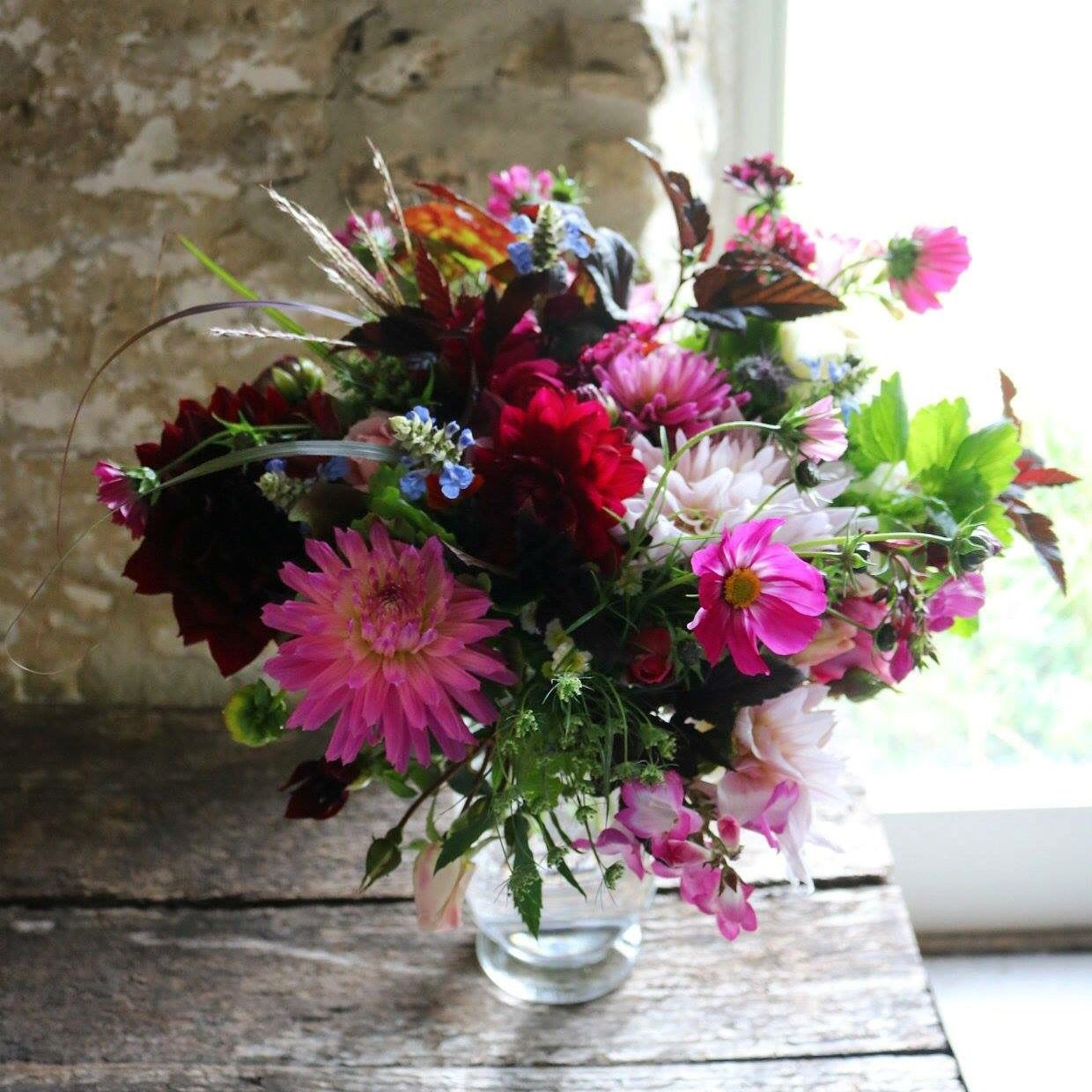 All British Flowers Flower Delivery From Common Farm Flowers In Somerset Flower Farmer British Flowers Flower Farm