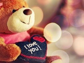 Teddy Text I Love You (click to view)