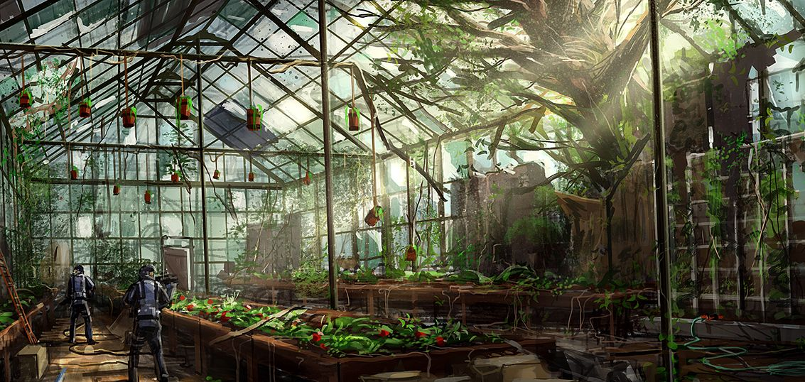 Greenhouse Aesthetic Conservatory
