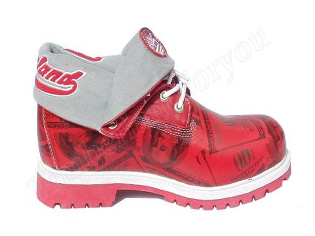 Women's Timberland Roll-Top Boots-Red Wholesale Online Store,Cheap ...