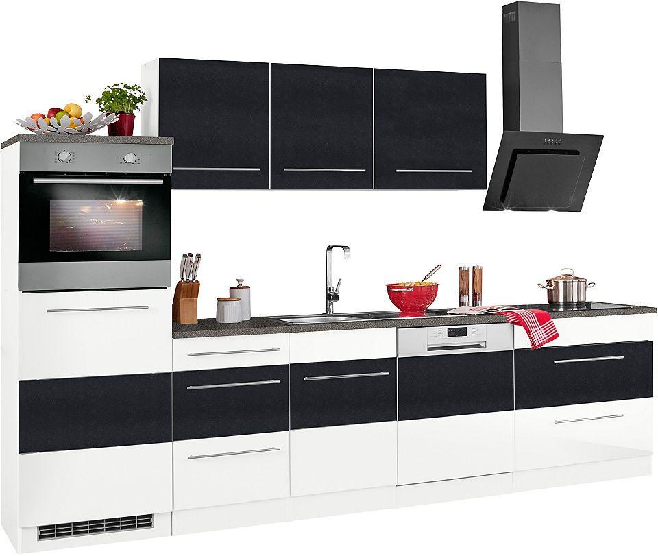 Held Möbel Küchenzeile ohne E-Geräte »Trient«, Breite 300 cm Jetzt - küchenzeilen ohne geräte