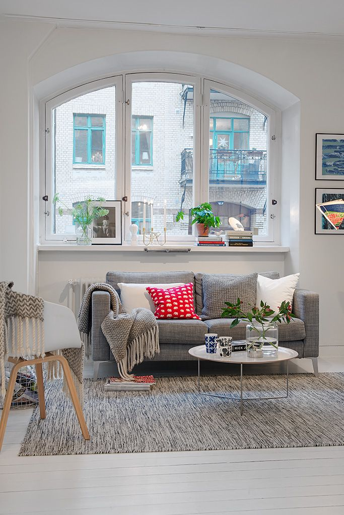 Un apartamento n rdico de 50 metros cuadrados decoracion for Sillones para apartamentos pequenos