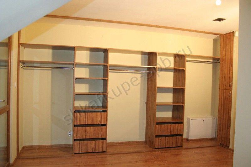 шкаф-купе на всю стену в зал фото
