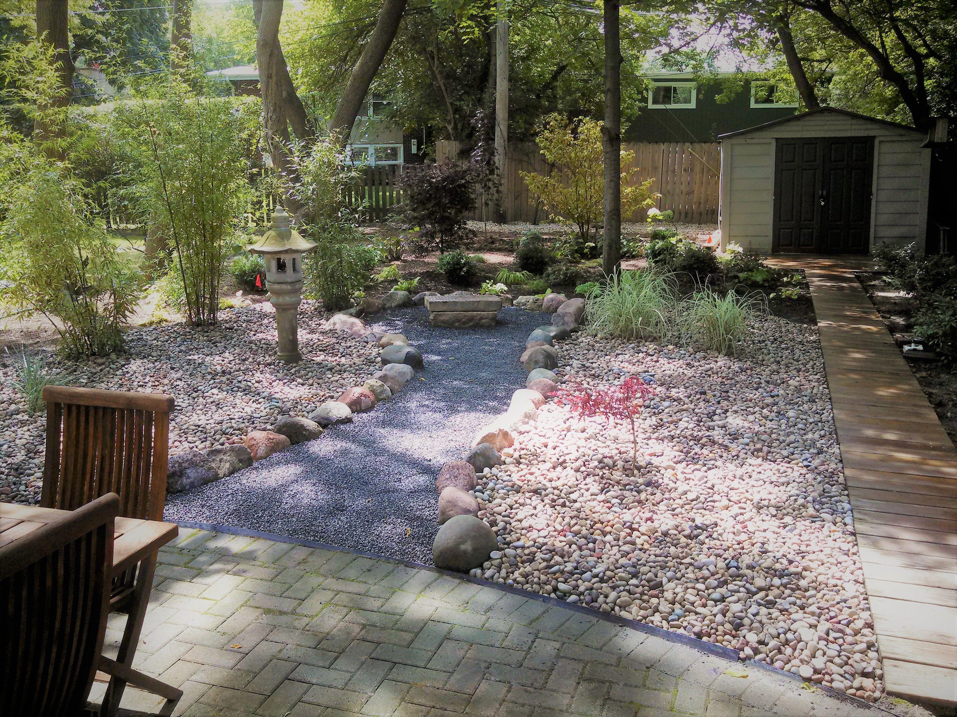 Japanese Garden And Landscape Design Highland Park Landscape Hardscape And Maintenance Servic Landscaping Supplies Landscape Maintenance Landscape Projects