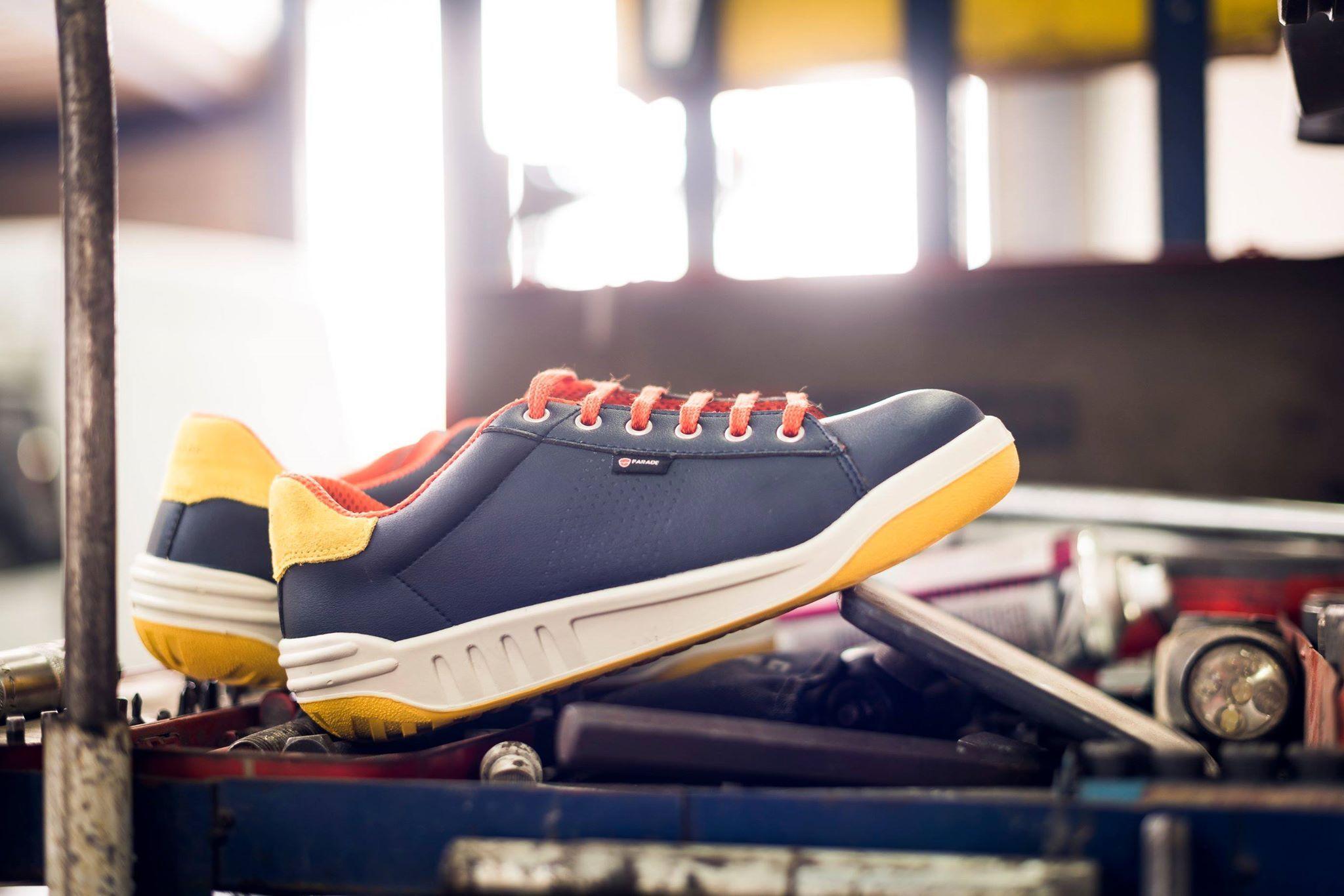 De Orange Shoes Blue Sécurité Safety Bleu Jamma Chaussures 5F1J3ucTlK