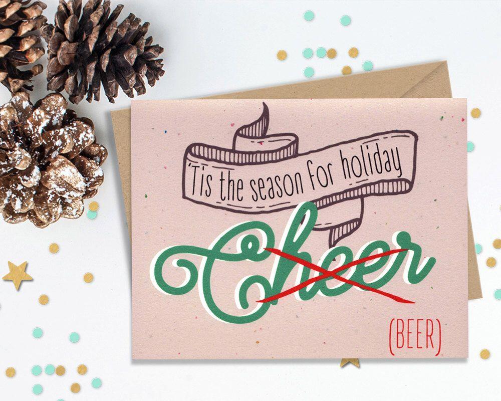 Tis the season 10 holiday card set funny greeting cards blank tis the season 10 holiday card set funny greeting cards blank card set m4hsunfo