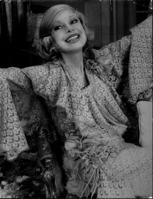 Carol Channing in The Bed Before Yesterday  1976