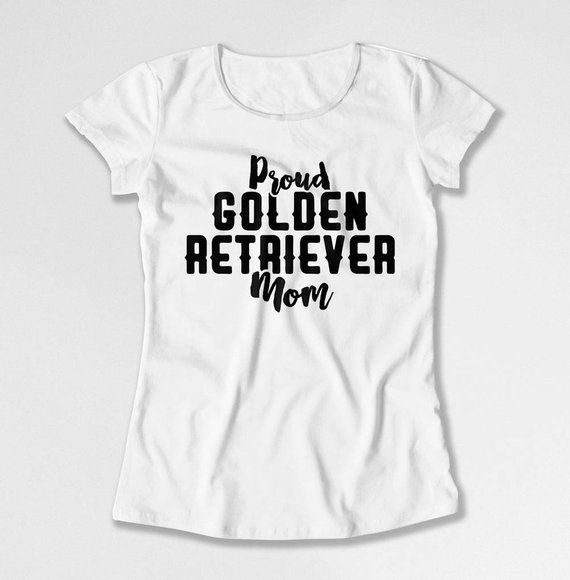 Golden Retriever Shirt Dog Mom T Shirt Pet Lover Gifts For Dog