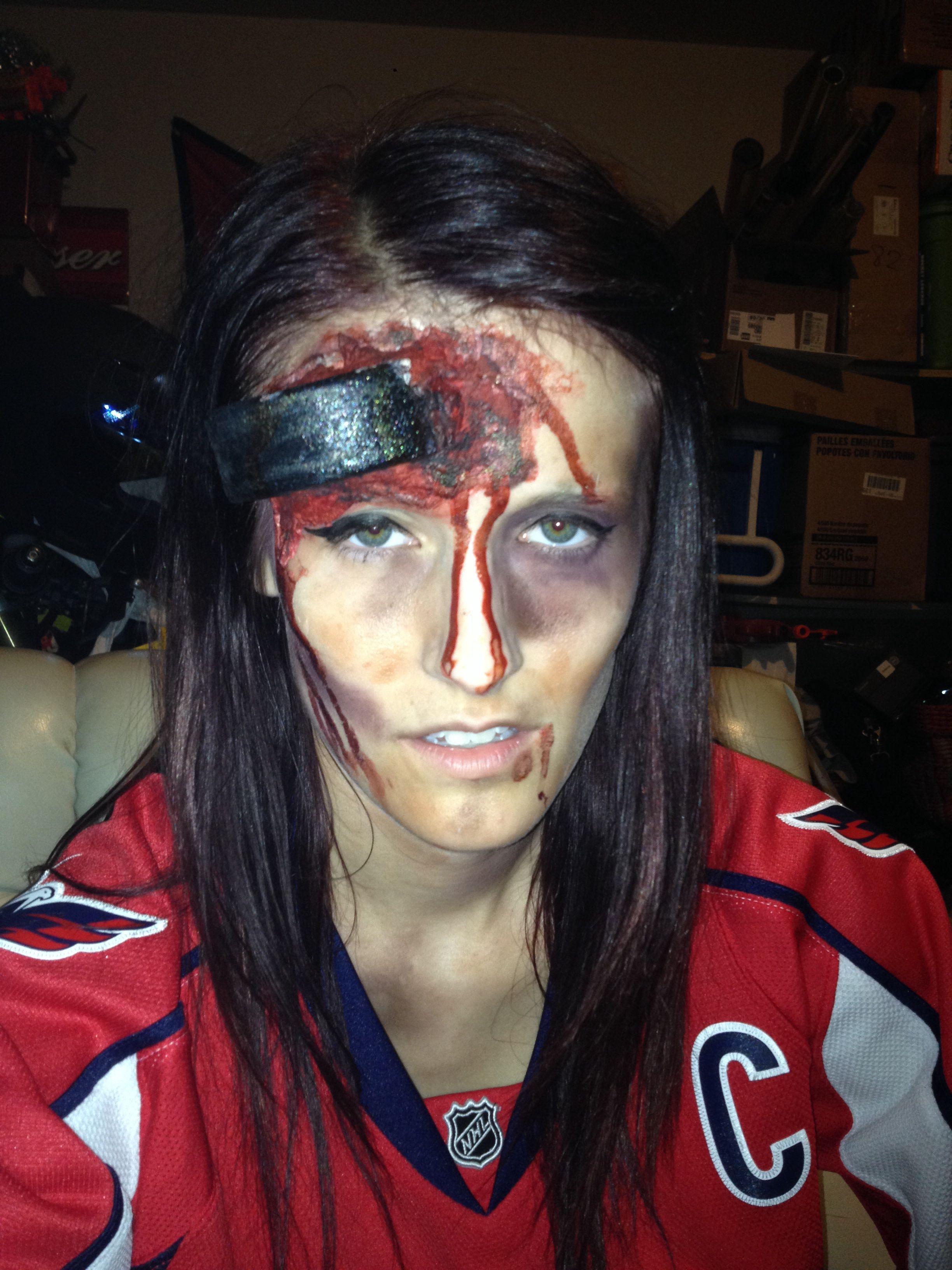 Zombie Hockey Player Halloween Halloween Costumes For Girls Boy Halloween Costumes