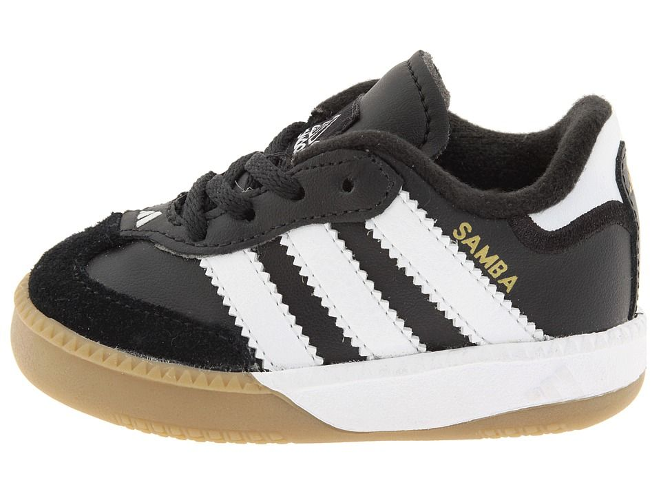 1f73a90fb adidas Kids Samba(r) Millennium Core (Infant/Toddler) Kids Shoes Black/Running  White