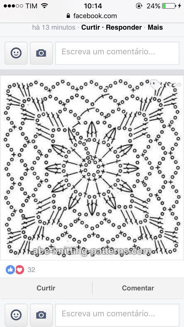Pin von Люда Птичка auf вязание | Pinterest | kostenlose Muster ...