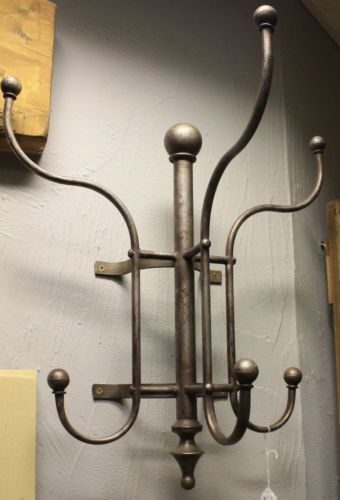 Antique Wall Mounted Coat Rack Vintage Industrial Style Wrought Delectable Metal Coat Rack Wall Mounted