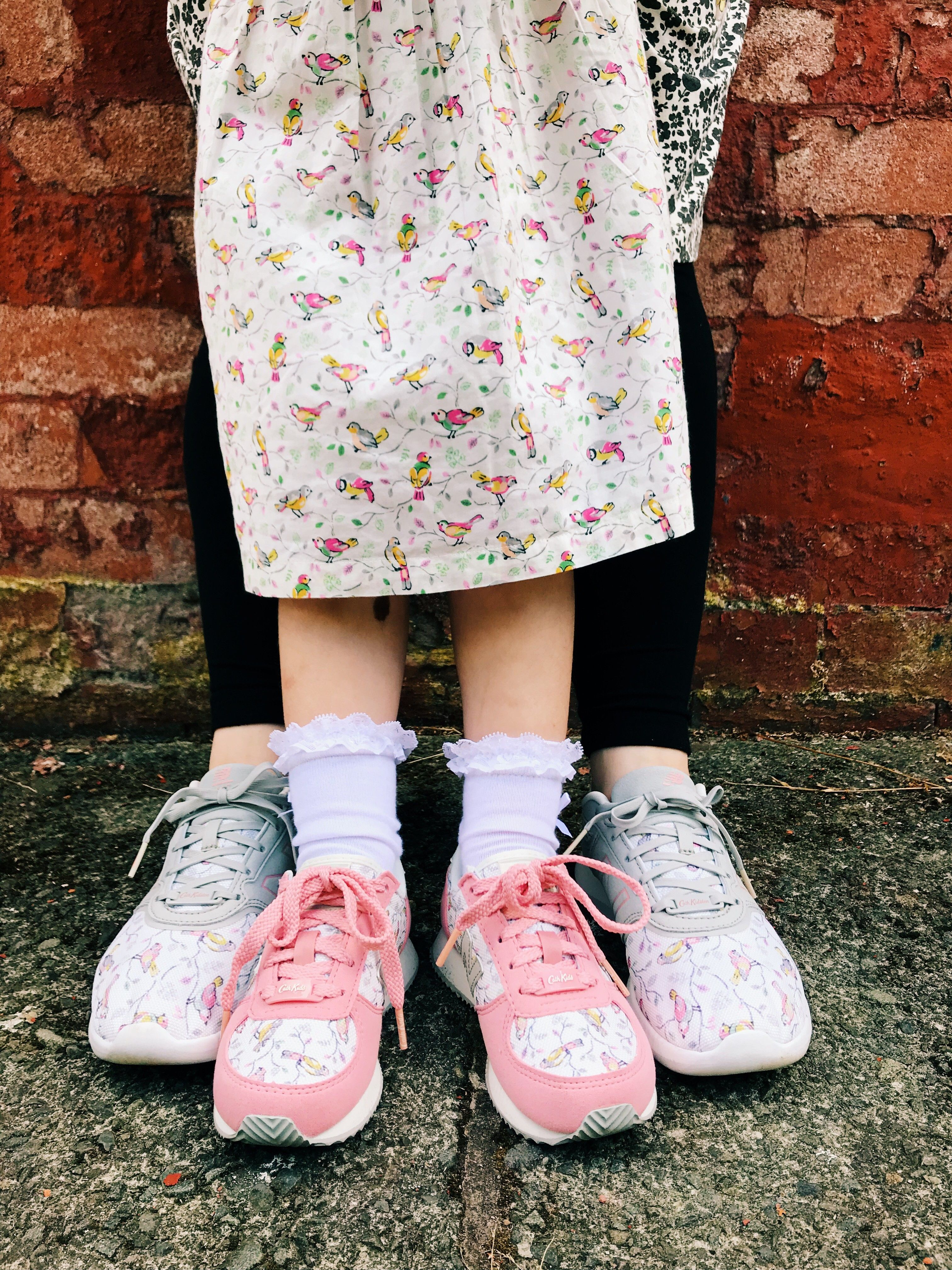 396a952bc5a307 We ve taken a New Balance iconic 415 style and blended it with our delicate  classic Cath Kidston print Little Birds