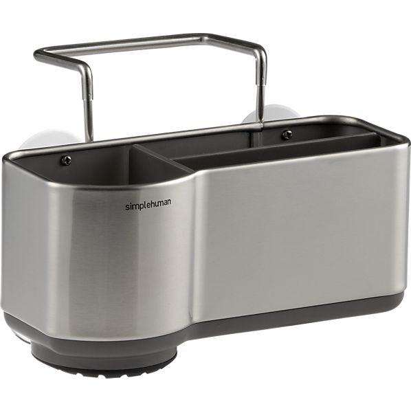 Best Simplehuman ® Sink Caddy Crate Barrel Sink Kitchen Helper 400 x 300