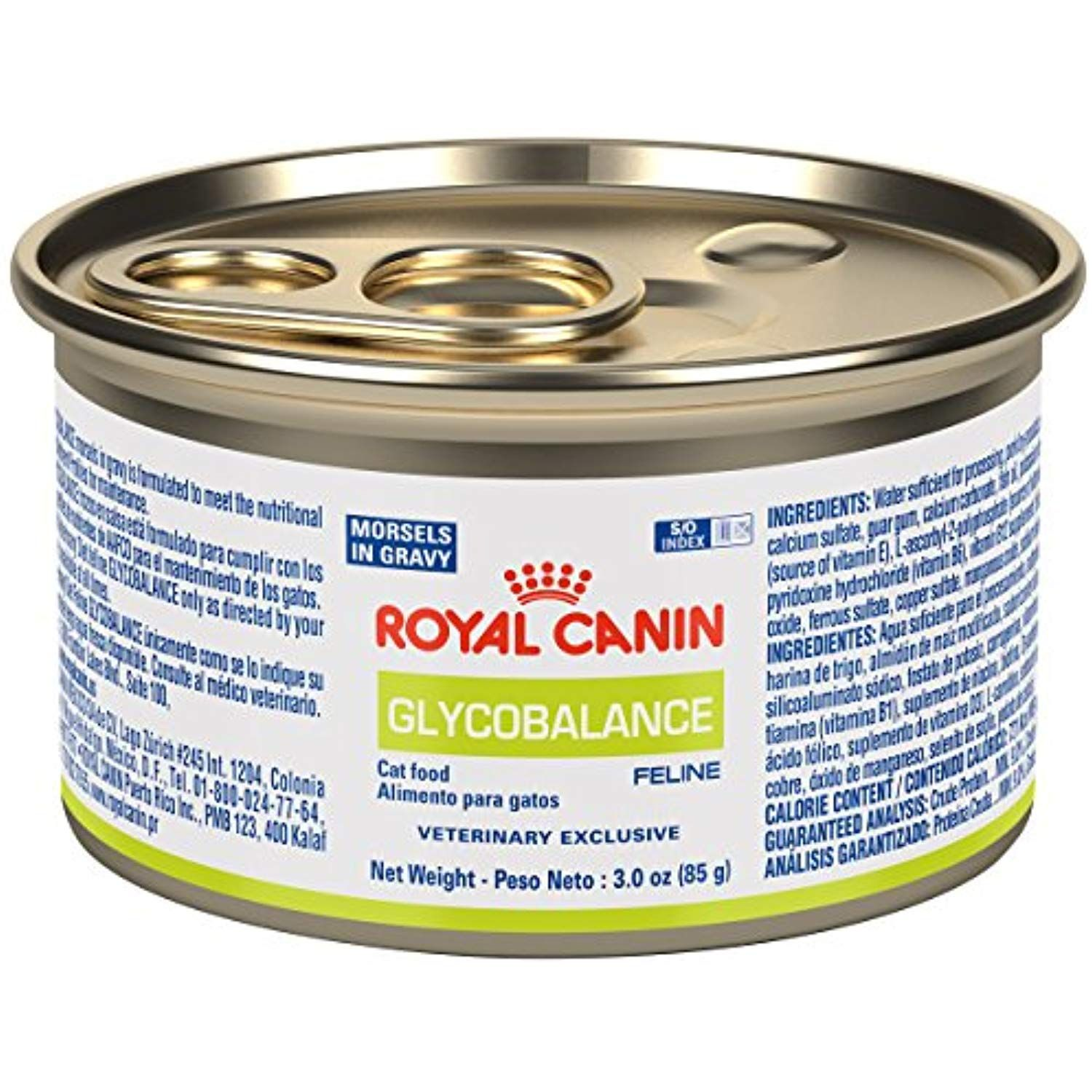 ROYAL CANIN Feline Glycobalance Morsels In Gravy Can (24/3