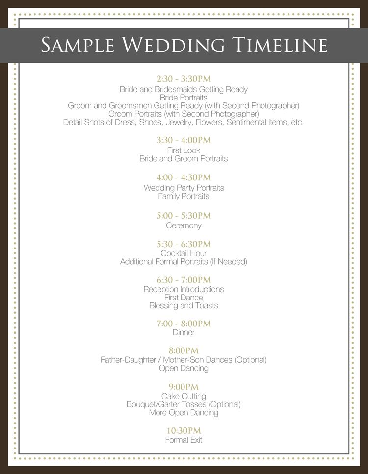 Your Ideal Wedding Day Timeline Leesburg Va Wedding Photographer